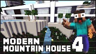 Minecraft - Modern Mountain House 4