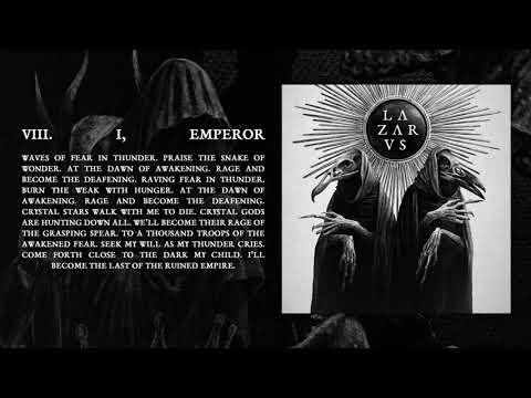 LAZARVS - I, EMPEROR (Official Audio)