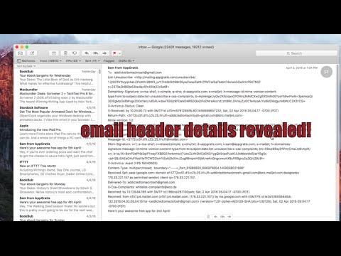 , title : 'How to Show Full Email Headers in Mail for Mac OS X'