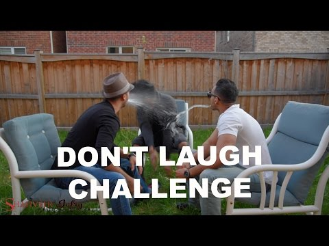 Don't laugh Challenge. SHAHVEER JAFRY VS. SHAM IDREES