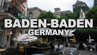 Baden-Baden Germany  city photo : Baden-Baden, a Spa Town at the Edge of the Black Forest in Germany