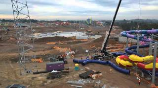 Official Wet n Wild Sydney Time Lapse Construction by Lipman