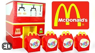The LEGO McDonald's Happy Meal Maker   Chicken Nuggets, Hamburgers & SURPRISE Toy