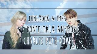 Guys, I couldn't help myself. After Jungkook uploaded the full version of his cover I just had to do a duet cover of it, 'cause he's my fave OK! Haha~ I hope you like this cover as a change ♡IMPA ►►Instagram http://www.instagram.com/reright.impaTwitter http://www.twitter.com/reright_impaSoundcloud http://www.soundcloud.com/impaofswedenPicture by JIRO ►►follow her on...Twitter https://twitter.com/tipsycojiro YouTube https://www.youtube.com/channel/UCvAzpBY1WkpxIwBkQ63RhxwInstagram https://www.instagram.com/tipsycojiro/JUNGKOOK'S COVER ►► https://www.youtube.com/watch?v=C4wMGXpD3PYORIGINAL SONG ►► https://www.youtube.com/watch?v=3AtDnEC4zak