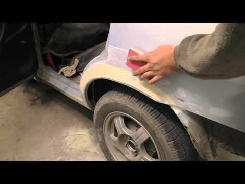 Подготовка авто к покраске своими руками 7