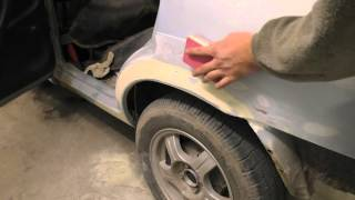 Download Покраска автомобиля своими руками/ How To Paint A Car Yourselfcar painting with his hands - VideoMp3