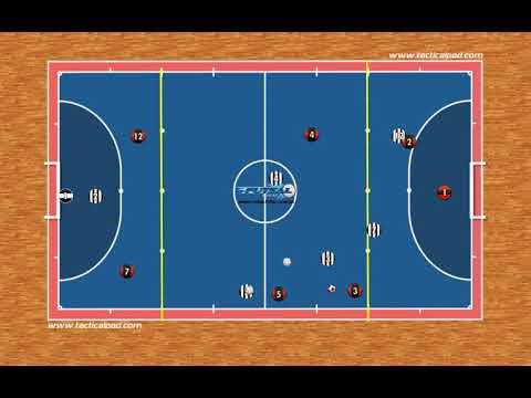 20) Jogo de setores 3v3 e 2v1