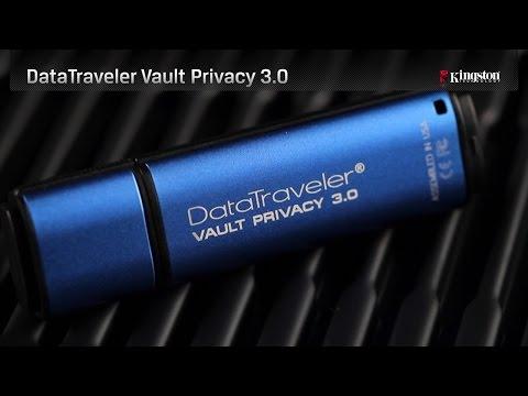 USB 3.0. / DataTraveler Vault Privacy 3.0