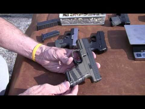 walther - Join me for a look at the slim little Walther PPS in 9mm and see how it shoots and compares in size to some other popular 9mm pistols in this genre. Holster:...