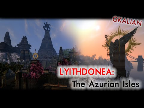 Morrowind: Lyithdonea: The Azurian Isles — Краткий обзор альфа-версии