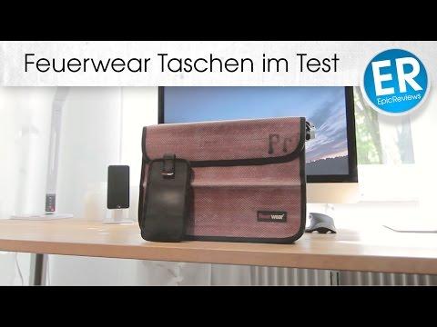 Exklusive Feuerwear Taschen im Test