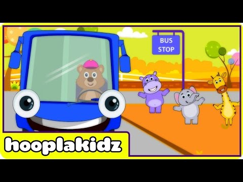 """Bus - Here comes the new Wheels on the Bus! HooplaKidz is presenting a third version of classic and most favorite """"Wheels on the bus go round and round"""" in a beautiful and colorful new animation..."""