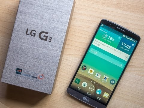 LG G3 European version (D855) unboxing and hands-on