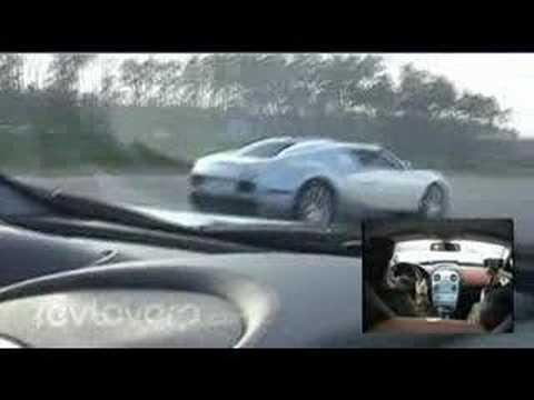 Bugatti Veyron vs Mclaren SLR