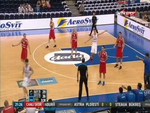 2012 Fiba U16 European Championship Men Semifinal Turkey 67 - 62 Serbia 3rd Quater