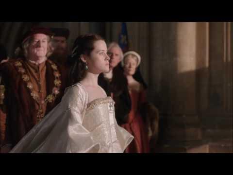 "Katherine of Aragon's confession and Anne Boleyn's coronation - ""Wolf Hall"""