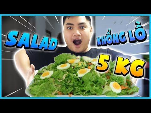 RIP113 thử nấu đĩa Salad khổng lồ nặng 5kg! RIP WITH THE PAN - Thời lượng: 10 phút.