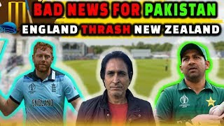 Bad news for Pakistan | England thrash New Zealand | Ramiz Speaks