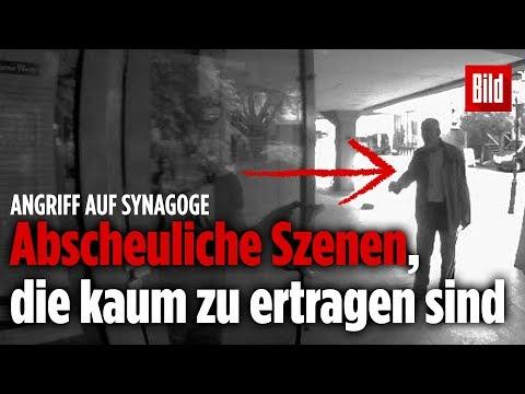 Antisemitischer Angriff: Synagoge der jüdischen Gemei ...