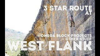 Projects at Omega Block and a 3 star route at the Grampians by Jackson Climbs