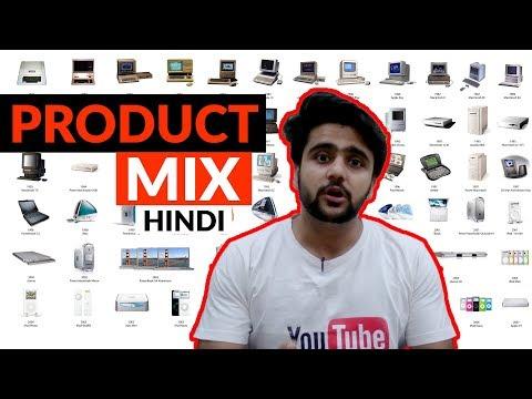 The Product Mix | Hindi | Marketing topics
