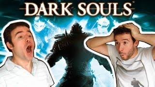 """EL SINDROME DE DARK SOULS (Directo con Rusín)En este vídeo os voy a hablar con mi hermano del síndrome de Dark Souls, una """"enfermedad"""" que se desarrolla al jugar a los juegos de From Software y cuya consecuencia es que otros videojuegos dejen de gustarte.¿Te ha gustado este vídeo? ¡SUSCRÍBETE PARA MÁS! http://bit.ly/1H1gvxv Otros links de interés:DARK SOULS 3: Explicación de la introducciónhttps://www.youtube.com/watch?v=JAg9dZY1YToDARK SOULS 3: Guía de claseshttps://www.youtube.com/watch?v=P6sOctKSVYcDARK SOULS 3: Guía de estadísticashttps://www.youtube.com/watch?v=UbRKo0zmKZ8Dark Souls (ダークソウル Dāku Souru?) es un videojuego de rol de acción, desarrollado por From Software para las plataformas PlayStation 3, Xbox 360 y Microsoft Windows, distribuido por Namco Bandai Games. Anteriormente conocido como Project Dark. Su lanzamiento fue el 22 de septiembre de 2011 en Japón, 4 de octubre en Norteamérica, 6 de octubre de 2011 en Australasia y 7 de octubre en Europa. El 24 de agosto de 2012, se lanzó la edición Prepare to Die para PC, presentando contenido adicional previamente inaccesible para los usuarios de PlayStation 3 y Xbox 360. El 23 de octubre de 2012, el contenido adicional de la versión PC fue publicado como contenido descargable para consolas bajo el título Artorias del Abismo.Dark Souls tiene lugar en el reino ficticio de Lordran. Los jugadores toman el papel de un personaje humano semimuerto que ha sido elegido para realizar un peregrinaje para descubrir el destino de los no muertos. El argumento de Dark Souls se va contando fundamentalmente a través de descripciones de objetos del juego, y diálogos con personajes no jugables (PNJs). Los jugadores deben ir reuniendo pistas para poder entender la historia. Dark Souls se labró un gran reconocimiento por su extenuante dificultad e implacable desafío. El mundo de juego está lleno de armas, armaduras y objetos consumibles que tienen como objetivo ayudar al jugador durante su viaje.Dark Souls recibió elogios por pa"""