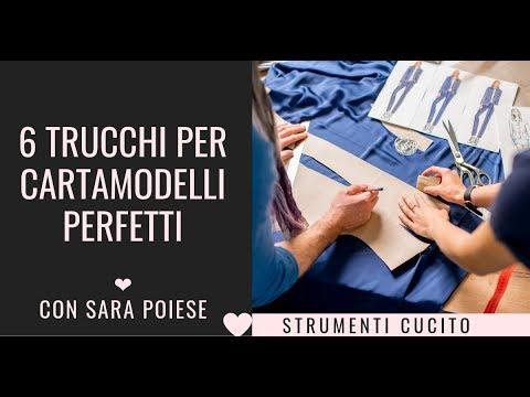 Cartamodelli | tabella misure | taglia perfetta | come prendere le misure | con Sara Poiese