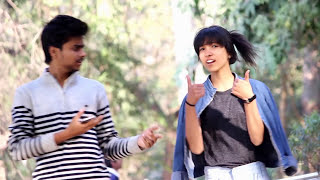 HOT Girl COMPLEMENTING ASS Prank (touching) |Pranks In India|