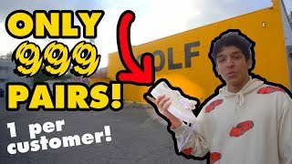 WHAT IT'S LIKE TO BUY GOLF LE FLEURS IN STORE *RAREST GOLF*