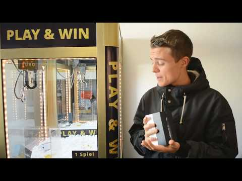 iPHONE 5 📱 WIN Greifautomat Gewinn - Claw Machine (Greifer gegen Harry) THEBIGHARRY