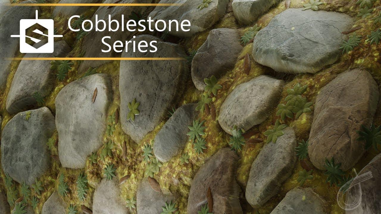 【Substance Designer】プロシージャルな石畳のマテリアルを作成するチュートリアル映像