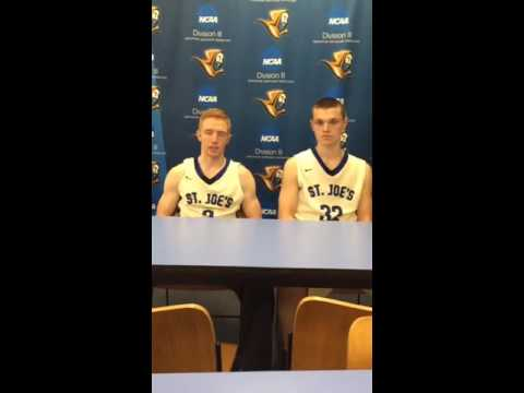 Men's Basketball Post Game with Tucker and Richardson-Newton