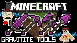 Minecraft Mods - Aether GRAVITITE Strongest Tools - Tutorial, Crafting&Using!