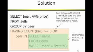 Oracle - PPT Lecture 3 - Live (2/14/11)