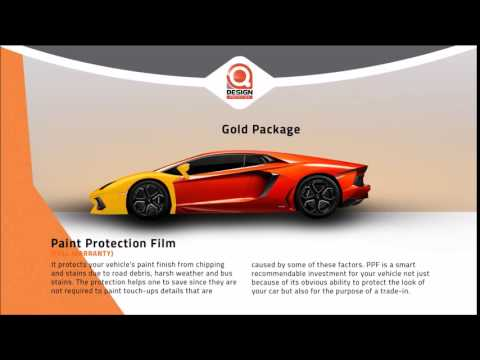 Qdesign Auto Center - Paint Protection Film