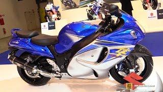 10. 2015 Suzuki Hayabusa ABS GSX-R1300 - Walkaround - 2014 EICMA Milan Motorcycle Exhibition