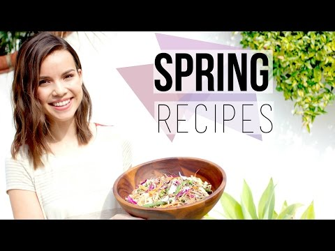 3 Quick + Healthy Spring Recipes!