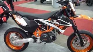 8. 2013 KTM 690 SMC R Supermoto  690 cm3 70 Hp 180 Km/h 112 mph * see also Playlist
