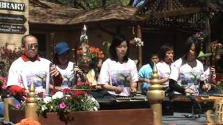 Thai Music In The Garden: Saawmai Song By Wat Buddha Dallas, Texas Part 2