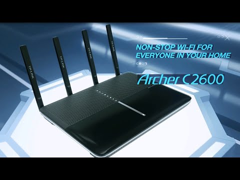 TP-Link AC2600 Wireless Dual Band Gigabit Router (Archer C2600)
