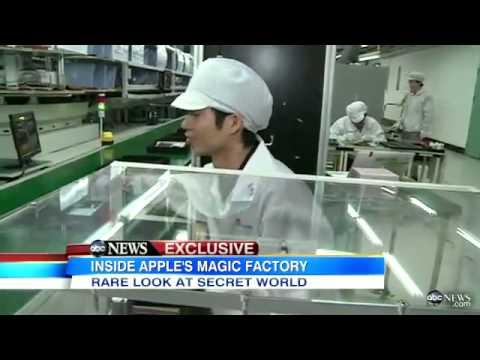 Inside Look At Apple's Chinese Sweatshops!