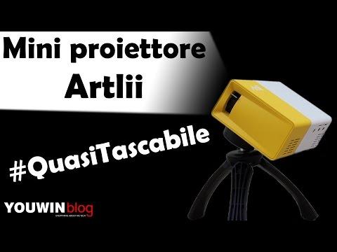 Mini proiettore Artlii #QuasiTascabile | Youwin Blog