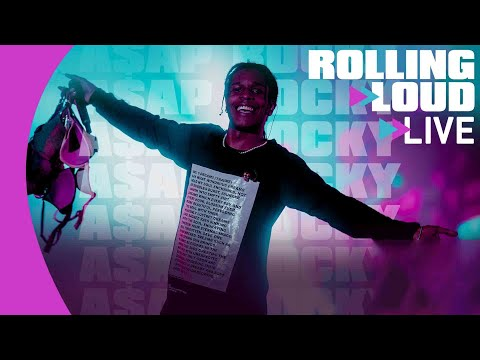 A$AP Rocky LIVE @ Rolling Loud New York 2019