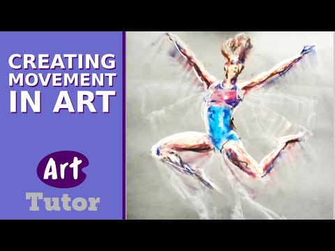 movement art - Gavin Mayhew is passionate about movement. In this demonstration he breaks down the principles of capturing moving figures in art before moving onto a pastel...