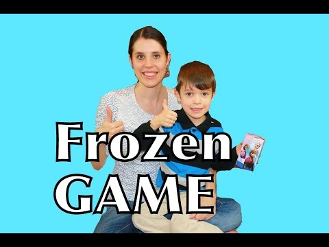 Disney Frozen GAME Matching Princess Memory Game with Frozen Toby AllToyCollector