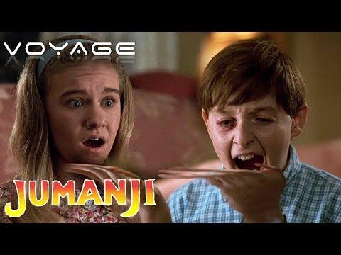 Alan Parrish Gets Sucked Into Jumanji | Jumanji | Voyage