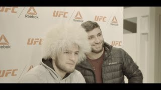 Video UFC 220: EP.2 - Khabib Nurmagomedov meets and greets fans at fighters Open Workouts MP3, 3GP, MP4, WEBM, AVI, FLV Oktober 2018