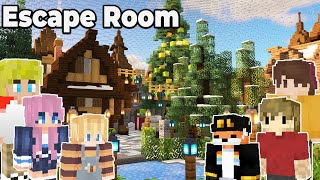 I Built an Escape room for Grian, Lizzie, Tubbo, Fundy, and Tommyinnit : Minecraft