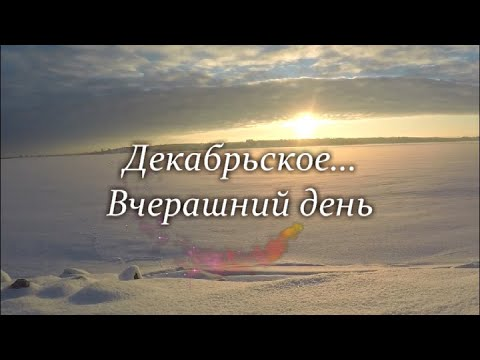 Декабрьское. Морозный воздух чист