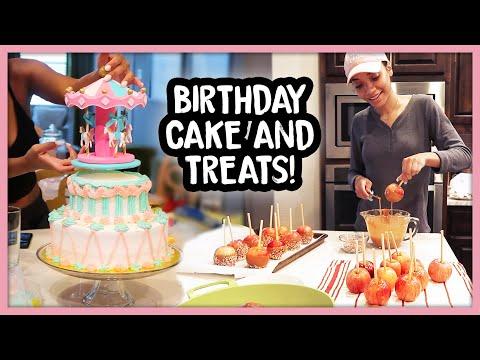 Carnival Birthday Party | Carousel Cake | 3rd Birthday